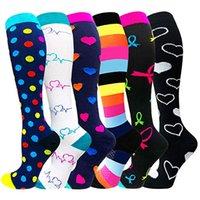 Compression Sock Men Women Graduated Athletic 30 Mmhg Professional Nursing Socks Fit Running Flight Travel Outdoor Hiking