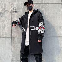 남자 재킷 남성 재킷 패션 캐주얼 봄 가을 streetwear 까마귀 outwear 힙합 s xc2s