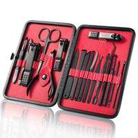 Nail Tools Beauty Cases Toenail Scissors Nail Tools Design Paint Brushes Stainless Steel Suit 8pcs 15pcs 18pcs Sell Well Scissors