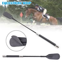 Horse Riding Whips PU Leather Horsewhips Racing Equestrian Whip Supplies Sex Toy
