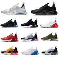 디자이너 실행 신발 270s 트리플 블랙 화이트 레드 여성 남성 Chaussures는 진실한 겨우 간신히 장미 망 트레이너 야외 스포츠 운동화 유로 36-45