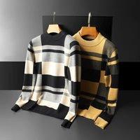 Herren Pullover Herren Strickwaren Rollkragen Herren Kaschmir Jumper Sweat Shirt Jumper Printing Hedging Pull de Luxe Herren Design Pullover
