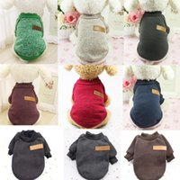 Dog Apparel Classic Warm Clothes For Small Dogs Soft Pet Cat Sweater Outfit Jacket Winter Puppy Coat Clothing Chihuahua Yorkies Costumes