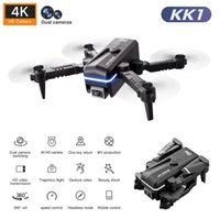 KK1 GLOBAL MINI DRONE 4K Double HD-Kamera Kleinfahrzeug mit WiFi FPV Faltbarer professioneller Hubschrauber Selfie Drohnen Spielzeug für Kind