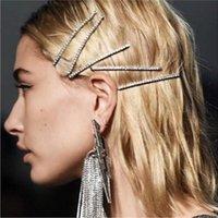 مقاطع الشعر المشابك 2021 كوريا الأزياء وحلوة جيني الراين ستون دبوس الشعر غطاء الرأس المرأة
