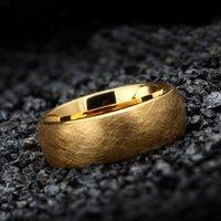 Anello in tungsteno per incisione 8mm per uomini anelli gioielli regali di compleanno anello di fidanzamento per amanti della coppia