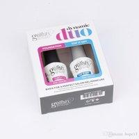 10Settop Qualität Top Base Mantel Neueste Mode Soak Off Gel Lack Harmonie Nagel Polierfarben LED UV Gel Laque Nail Art Gel Polnisch 2 teile / satz