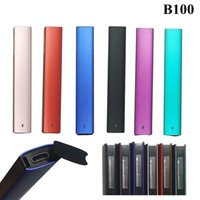 OEM Delta 8 Disposable Vape Pen Pod Device E Cigarettes Starter Kits 1ML Empty Pods Cartridge 280mah Rechargeable Battery heat smoothly Thick Oil Vaporizer Pens B100