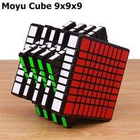 Moyu MF9 9X9X9 سحرية السرعة مكعب شامل المهنية مكعبات الفصول الدراسية لغز مكعبات 9 طبقة ألعاب تعليمية للأطفال
