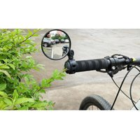 Bike Groupsets Universal Bicycle Rearview Mirror Adjustable Rotate Wide-angle Cycling Rear View Mirrors For Mtb Road Riding Safety Tool #W5
