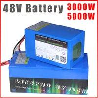48V Batteria 48V 20Ah 30Ah 40ah 60Ah 100ah 200Ah Bicicletta elettrica batteria al litio 48 V 500W 1000W 2000W 3000W 5000W batteria
