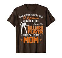 Il mio giocatore di biliardo preferito mi chiama regalo della mamma per la maglietta della madre
