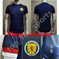 22 22 Jogador Versão Escócia Scotland Jersey 2021 2022 Tierney Robertson McTominay Camisa de futebol Christie McGregor McGegor McGinn Homens Uniforme Casa Camesitas