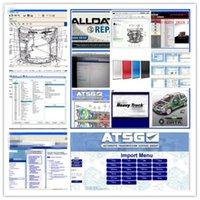 2021 Heiße ALLDATA Auto-Reparatur-Software Alle Daten V10.53 Mi-Tchell 2015 lebendiger Workshop 10.2 Heavy Truck und ATSG 2017 in 1 TB HDD USB 3.0 für Autos Trucks Diagnostic