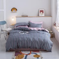 Bedding Sets 39Reactive Printed AB Side Duvet Cover+ Flat Sheet+Pillowcase 3 4pcs Single Full Queen King Size No Quilt Adults Set