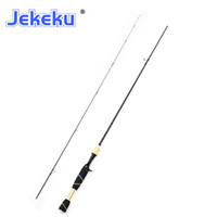 Jekek Novo 1.8m Superlight Truta de Pesca L / UL Corbon Corbon Spinning Viagem Haste Casting Pólo Rápido Ação 0.6-6G 2-6LB Lure Rod L0331