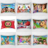 50 * 30 cm tubo travesseiro dos desenhos animados Cocomelon lance almofada cobre tiktok moda sofá travesseiros pillowslip menino sala cama decoração ornamento festa presente g76120s
