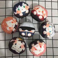 Jujutsu Kaisen Plush Anime 7cm Cosplay Dolls Pendant Yuji Itadori Costume Cute Soft Baby Toys Keychains