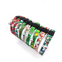 Cat Collars & Leads Christmas Customized Printed Pet Collar Dog For Party Accessories