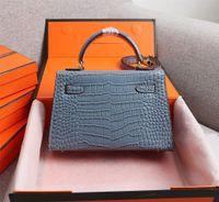 Birçok Renkler Luxurys Tasarımcılar Kadın El Çantaları 2021 Moda Desen Satchel Omuz Zincir Crossbody Çanta Bayan Timsah Klasik Tarzı Hediye Çantası Ile Yüksek Kalite66