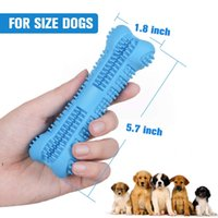 Dog Toothbrush Toy Brushing Stick Pet Molar Toothbrush for Dog Puppy Tooth Healthcare Teeth Cleaning Chew Toy Brush HHD6579