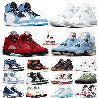4s 1s retro Red Metallic air jordan 4 4s White Sail uomini scarpe da basket Bred ciò che l'Oreo Neon Pure denaro Cemento Motosports mens Sport Sneakers 7-13