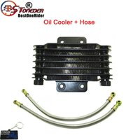 Teile Stoneder Ölkühler Kühler mit 500 mm Schlauch für Pit Dirt Bike ATV Quad Motorrad