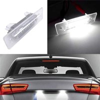 2 Pcs Transparent Frame Car LED Number License Plate Light Lamp Fit For Porsche Cayenne 996 986 911 Carreravo 3528SMD