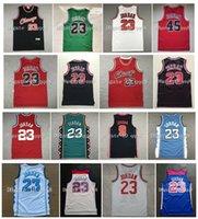 Üst kalite ! Kuzey Carolina College 23 Michael Bull Jersey USA Vintage Basketbol Koleji 96 Tüm Yıldız Retro Kırmızı Siyah Beyaz Basketbol Spor Jersey