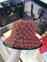 2021 Moda Mujeres Lujipados Diseñadores Caps Hats Hombre Cubo Sombrero Cap de calidad clásico