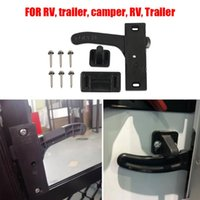 Parts Universal RV Screen Door Latch Replacement Camper Right Hand Open Close Handle Kit Trailer Hardware Fittings