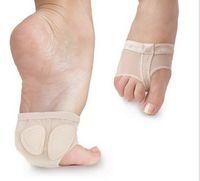 1 Pair Girls Donne Donne Bally Ballet Half Shoes Spalato Soft Sole Paw Dance Pied Piedi Protezione Pietra Pad Bene