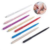 الوشم إبر المدونات دليل القلم أداة المعقم آلة ماكياج الألوان