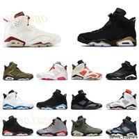 Jumpman 6 6s Chaussures de basketball réfléchissant infrarouge Hommes Femmes DMP PE Millennial Pink Hommes Sports Sports Chaussures de sport Hare Baskets
