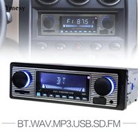 Ymesy Car MP3 Player Moderno 12 V Bluetooth Auto Radio Estéreo Audio FM Receptor Suporte USB Radios Portatil MP4 Jogadores