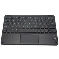9in Wireless Bluetooth Keyboard With Touchpad Mini Portable Ultra Slim Laptop Tablet For Android  Windows Systems Keyboards