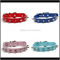 Collars Leashes Pet Supplies Home & Gardenpet Dog Collar Leatherworking Material Rivets Collari Per Cani Guard Agains Bit Collares De Perro P