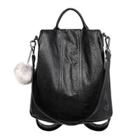 2021 New in Stock Designer Square Ladies Women Fashion Backpacks with Ball Charm Hand Bags Handbag