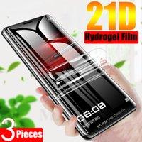 21D Full Cover Hydrogel Screen Protectors Film For Xiaomi Mi 11 10T Note 10 Lite Poco M3 X3 Redmi Note9s 8 8T 9 K40 Pro TPU