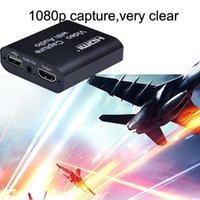 Capture Card USB 2.0 1080P Grabber Phone PS4 Game Recording Device With Loop Output For Youtube Facebook Live Streaming Computer Cables & Co