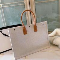 قماش حقيبة تسوق مصمم تصميم جودة عالية الكلاسيكية الجديدة المرأة حقيبة يد الأزياء الرجعية نمط القومي شراء متعدد الألوان