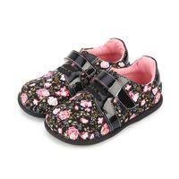 Tipsietoes Brand Высокое Качество Мода Ткань Шищеные Детские Обувь для мальчиков и Девочек Осень Прибытие Кроссовки 210727