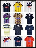 1982 1986 1986 1993 1995 1998 اسكتلندا ريترو لكرة القدم الفانيلة كأس العالم 93 94 95 96 Dalglish Strachan Miller Souness Hansen George Football Shirt