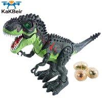 Kakbeir 47cm grande spray dinossauro Tyosaurus robô modelo dos desenhos animados animais elétricos andando dinossaurio brinquedo crianças brinquedos 210607