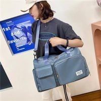 Duffel Bags Sports Fitness Bag Customized Independent Shoe Warehouse Portable Travel Women's Large Capacity Dry Wet Separation Swimming