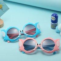 Lunettes de soleil 3D de chat mignon 3D animaux animaux enfants garçons filles adumbrales nuances UV400 Candy couleurs 3564 Q2