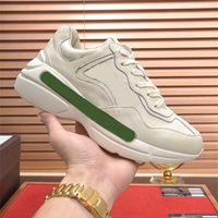 Italia Lussurys Designer Sneaker Rosso Verde Verde Avorio Leache Scarpe Bocca Apple Strawberry Stampa Sol Sol Casual Scarpe Casual Runner Rhyton Chunky Sneakers Allenatore