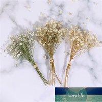 3房造花恒久的な花の赤ん坊の息ブーケロマンチックな花瓶の装飾花の配置物資