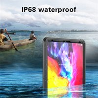 IP68 Waterproof Protective Clear Case for iPad Pro 12.9'' 2020 Sports Outdoor Swimming Phone Cover Hybrid Armor Rugged Snowproof Shell