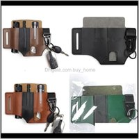 Bags Sports & Outdoorsedc Retro Sheath Flashlight Knives Tool Holster Outdoor Storage Waist Package Men Travel Backwoods Sport Aessories 15Yz